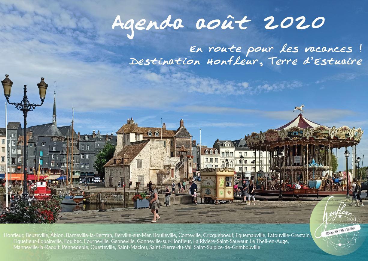 agenda août 2020